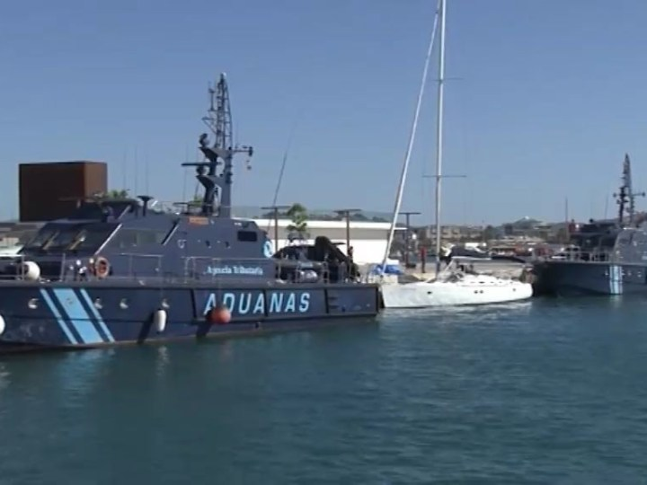14/05/2019 Un veler intercepta cinc tones de haixix