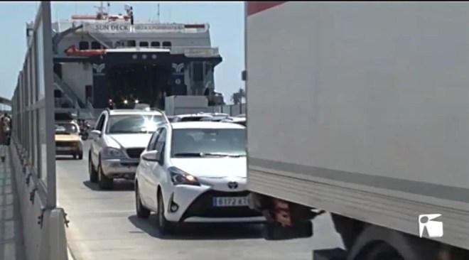 01/07/2019 Primer dia de restricció de vehicles a Formentera