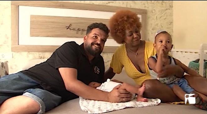 29/072019 En Joss va néixer a casa amb l'ajuda del seu pare