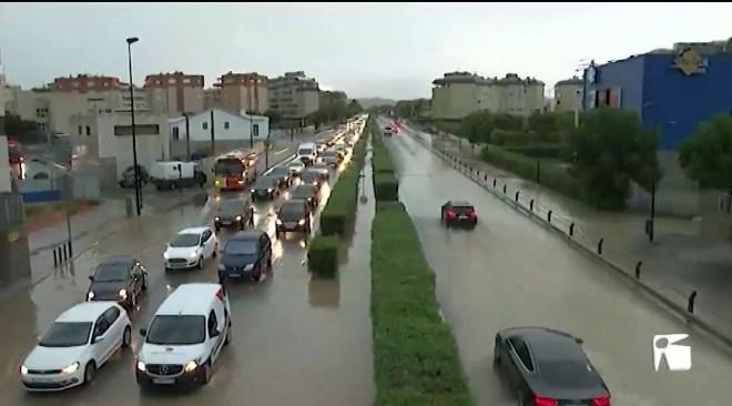 27/08/2019 La pluja torna a col·lapsar vila