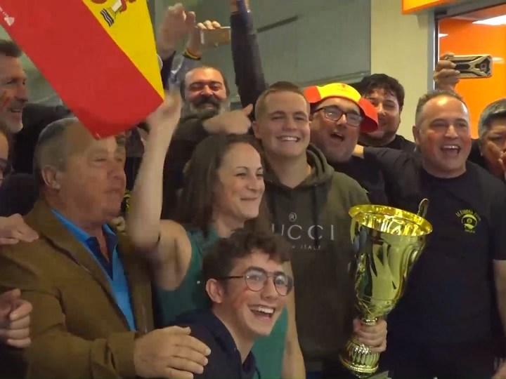29/11/2019 Jonás Souto campió del món júnior de billar