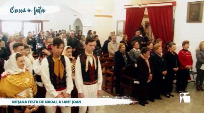 26/12/2019 Eivissa en Festes - Mitjana festa de Nadal a Sant Joan