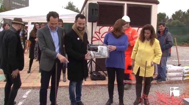 16/12/2019 S'inicien les obres per construir 24 HPO a Platja d'en Bossa