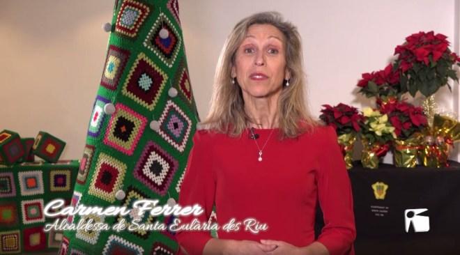 Missatge de Nadal 2019 de Carmen Ferrer, alcadessa de Santa Eulària