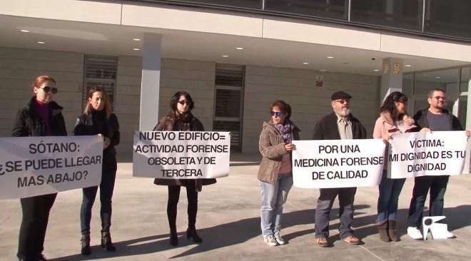 09/12 El Ministeri es compromet a reubicar els forenses a la segona fase del nou edifici dels jutjats