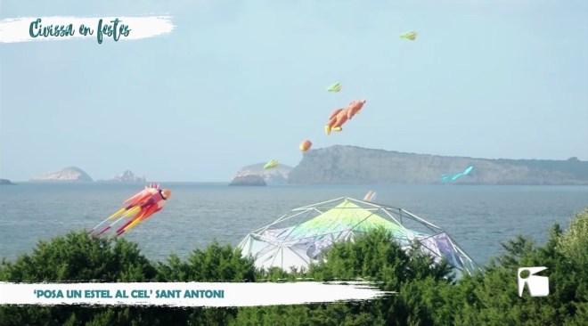 26/01 Eivissa en Festes - 'Posa un estel al cel' Sant Antoni