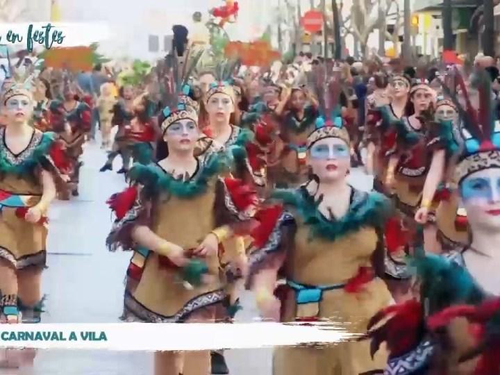 23/02/2020 Eivissa en Festes – Rua de carnaval a Vila