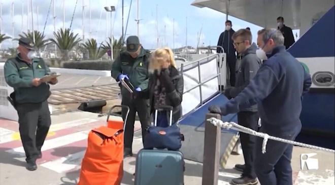 19/03/2020 Ja ha entrat en vigor la limitació en les connexions entre Eivissa i Formentera
