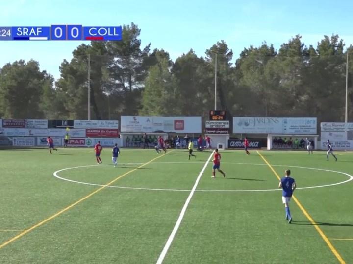 07/03 Futbol: CF Sant Rafel – UD Collerense