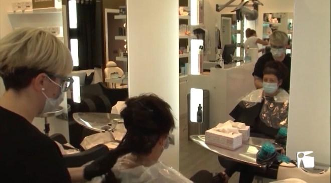 04/05/2020 Primer dia a les perruqueries