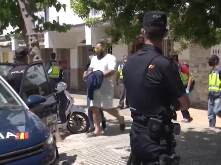 03/06/2020 10 detinguts en una operació antidroga a Vila