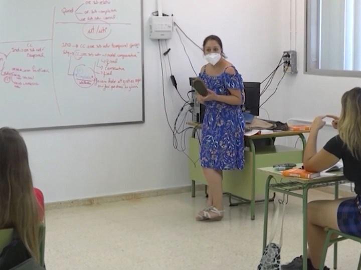 09/06/2020 Alumnes i docents es tornen a veure les cares