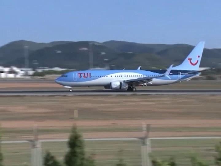 16/06/2020 TUI durà turistes alemanys a les Pitiüses