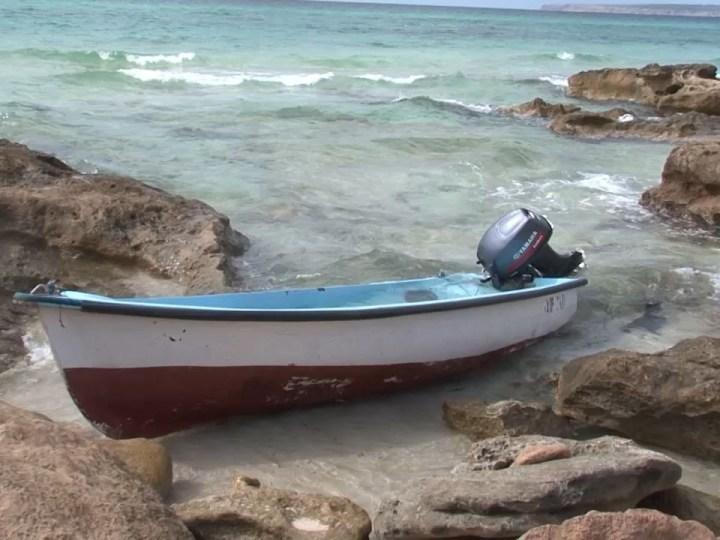 22/09/2020 Arriben a Formentera dos barques amb 24 immigrants