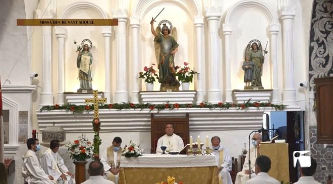 29/09/2020 Missa en honor a Sant Miquel