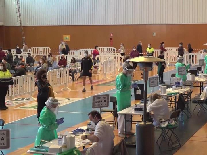 28/01/2021 1.135 participants i 20 positius al primer dia del cribratge de Santa Eulària i Sant Joan