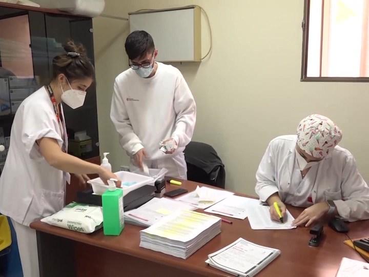 05/03/2021 El ritme de vacunacions avança a poc a poc