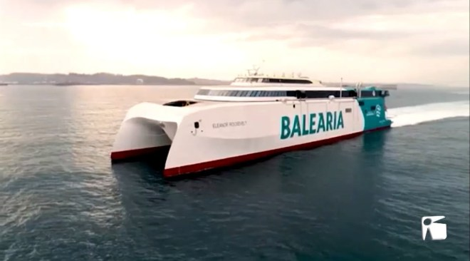 13/05/2021 Baleària presenta l'Eleanor Roosevelt