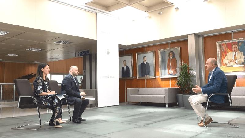 13/07 Entrevista al president del Consell d'Eivissa, Vicent Marí