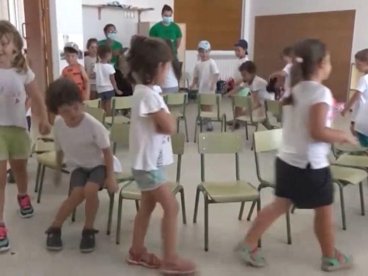 06/07/2021 600 alumnes a les escoles d'estiu de Santa Eulària
