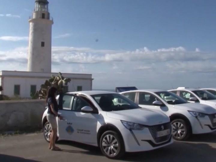 13/07/2021 Formentera augmenta la seva flota de cotxes elèctrics
