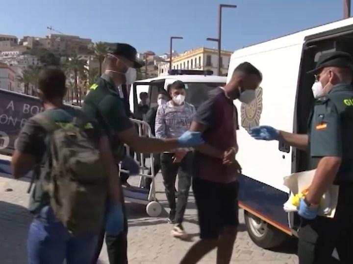 20/07/2021 Arriben 28 immigrants en dos barques a Formentera