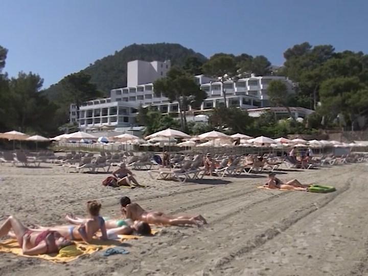 11/08/2021 L'ocupació hotelera a les Pitiüses frega el 70 % en juliol