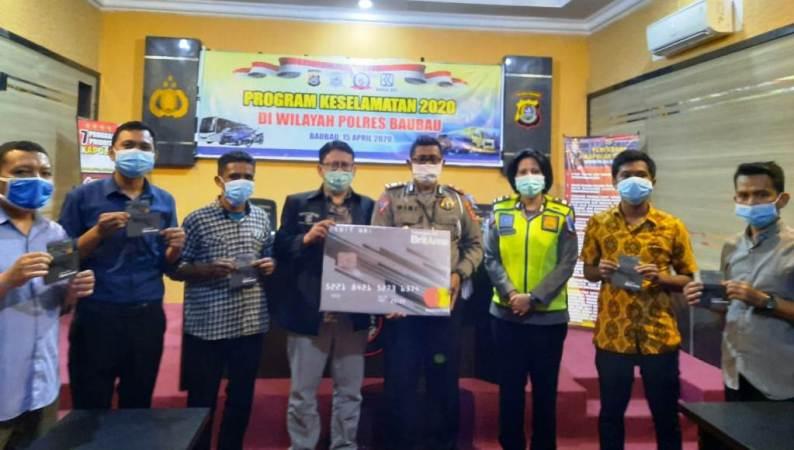 Satlantas Polres Baubau Launching Program OPS Keselamatan Anoa 2020