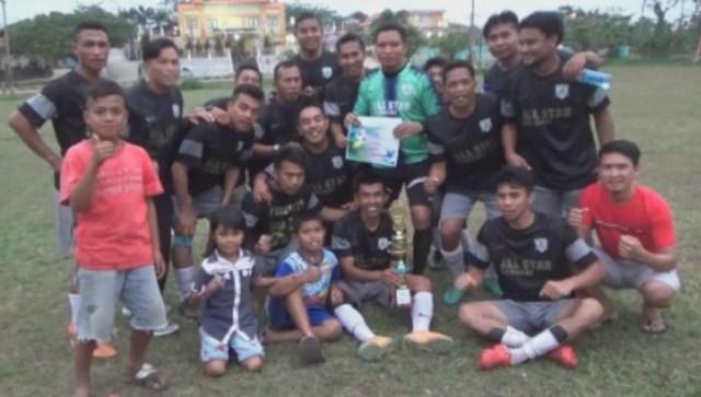 All Star Kendari Pecundangi F-No FC di Laga Final Karang Taruna Cup III