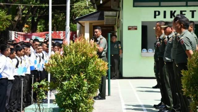 Seleksi Bintara PK TNI AD, Danrem 143/HO Ingatkan Panitia Transparan