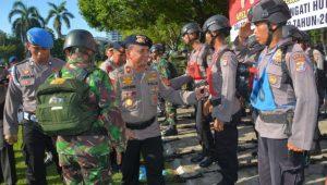 Sambut Hut Brimob ke-72, Polda Sultra Gelar Panca Lomba Gabungan TNI-Polri