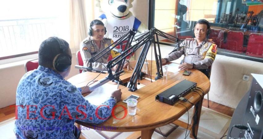 Dialog Interaktif RRI Ditbinmas Polda Sultra Bentuk Mahasiswa Bhayangkara