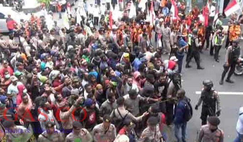 AMP Gelar Unjuk Rasa Tuntut Papua Merdeka