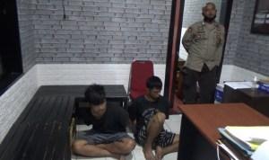 Dua tersangka pencuri sapi diamankan polisi setempat