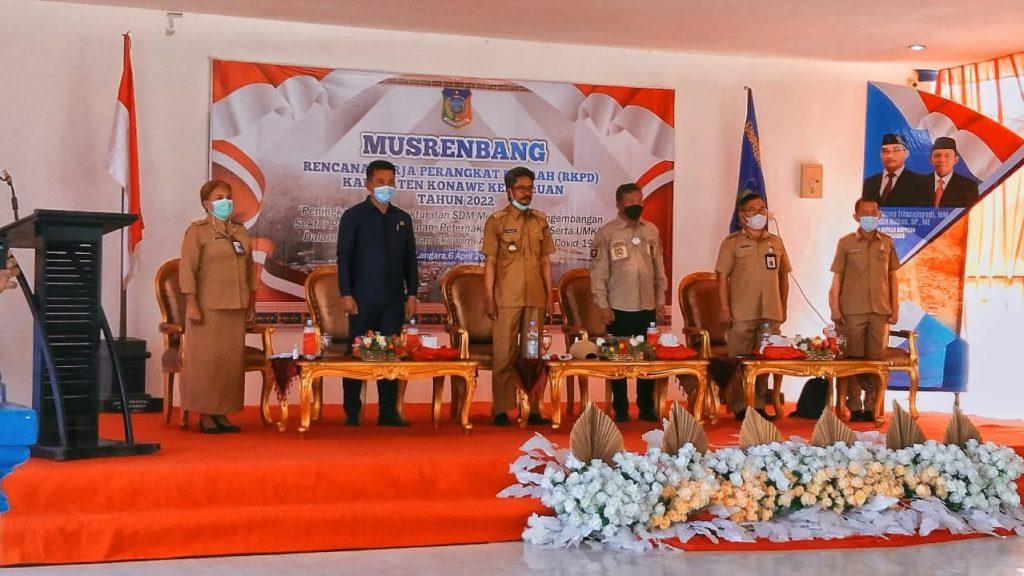 Pembukaan Musrenbang RKPD 2021 tingkat kabupaten Konkep