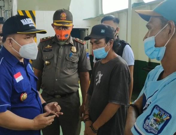 BNN) Kabupaten Kolaka Sulawesi Tenggara (Sultra) menggelar operasi senyap di dalam kapal motor penumpang (KMP) rute Kolaka - Bajoe