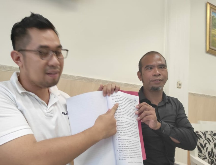 PT AKM Laporkan Majelis Hakim PN Kendari ke Bawas MA