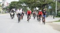 Sepeda Santai Korem 143/HO, Gembira dan Sehat Bersama