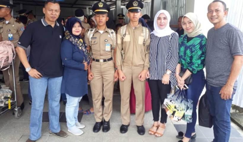 Cuti Dinas, 69 Praja IPDN Angkatan XXIX Tiba Sultra