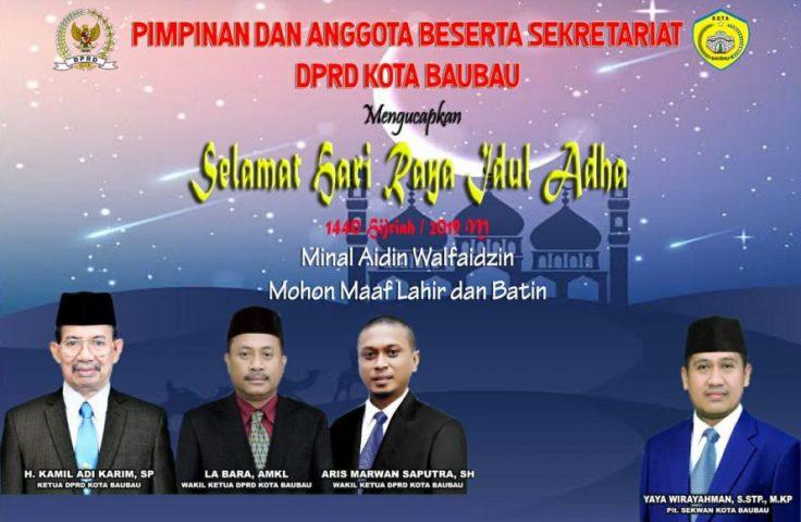 Iklan Idul Adha DPRD Baubau