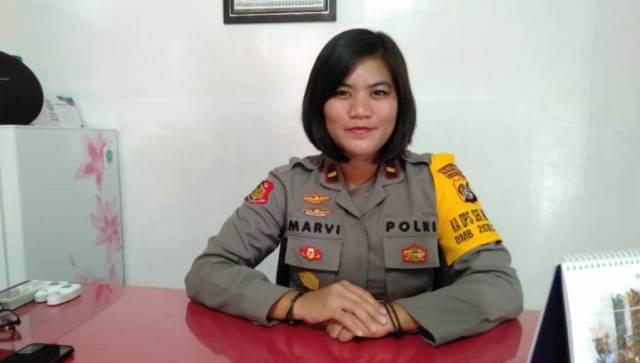 Mengenal Sosok Ipda Marvi Okcisiriana Cakti Kapolsek Wanita Ke-3 di Polres Baubau