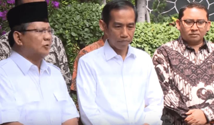 Video, Prabowo Ucapkan Selamat kepada Jokowi
