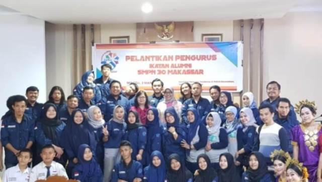 IKA SMPN 30 Makassar Inisiasi Kegiatan Donor Darah
