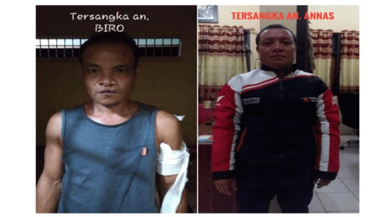 Polisi Amankan Dua Pria Penganiaya di Konsel