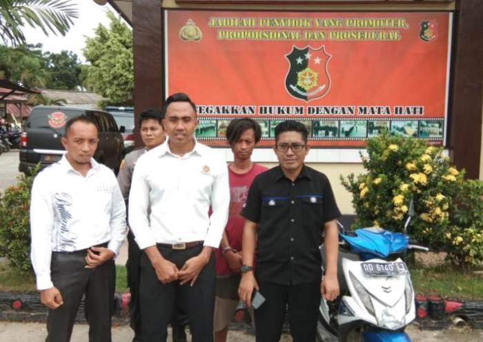 Tim Elang Anti Bandit 007 Polres Kolaka Tangkap Pelaku Curanmor
