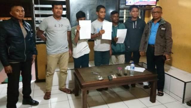 Asyik Main Gim di Pinggir Jalan, Enam Remaja di Muna Diamankan Polisi