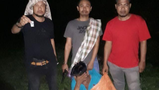 Residivis Dibekuk Polisi Kolut, Simpan Narkoba di Sepatu