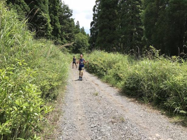 2周めの林道がキツかった