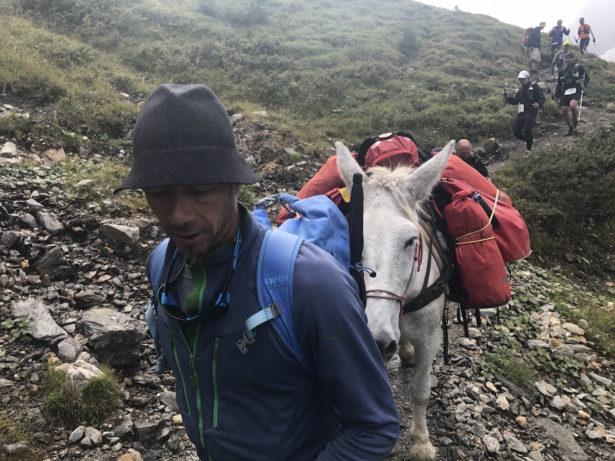 Grand Col Ferretへの上り