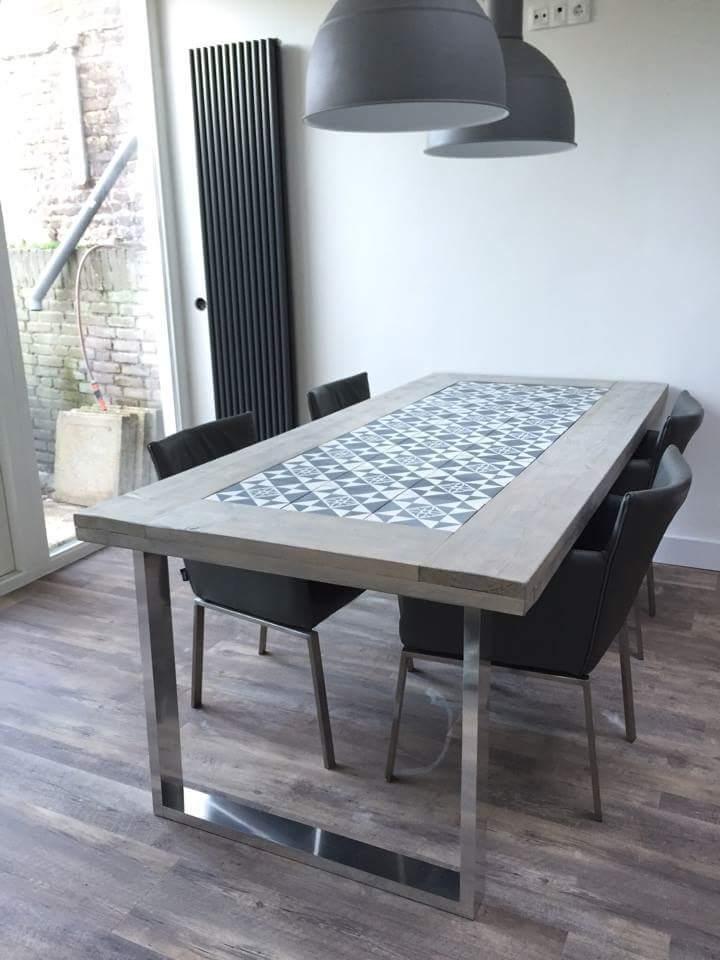 Super Cementtegel vloeren - PORTUGESE TEGELS - TEGELAER #EE04